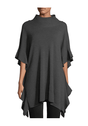 Lucy Wool Poncho Sweater
