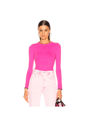 JoosTricot Crew Neck Sweater in Pink