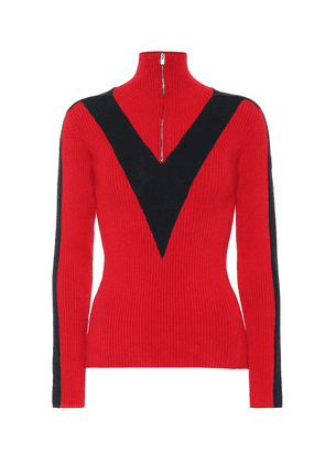 Victoire ribbed ski sweater