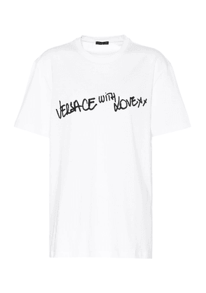 Versace with Love cotton T-shirt