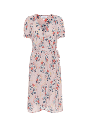 Meadow floral midi dress
