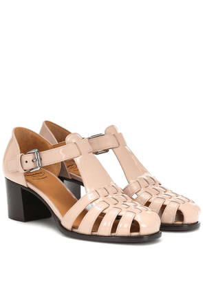 Kelsey patent leather sandals