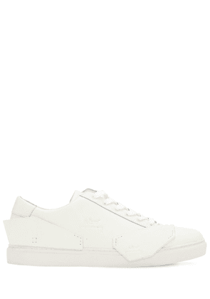 Multi-panel Leather Sneakers
