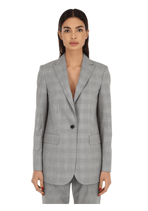 Checked Techno Blazer