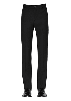 Slim Fit Fluid Techno Twill Trousers