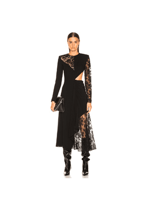 Givenchy Lace Dress in Black