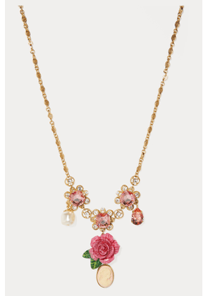 Roses necklace