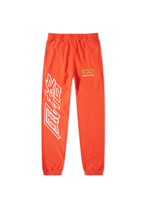 Heron Preston CTNMB Outline Sweat Pant Coral Red