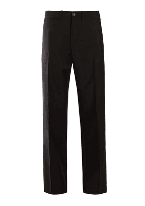 Loewe - Straight Leg Trousers - Womens - Black