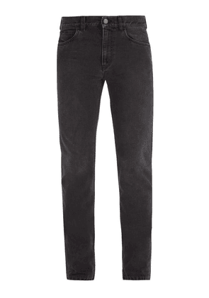 Gucci - Mid Rise Straight Leg Denim Jeans - Mens - Black