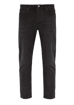 Acne Studios - River Washed Denim Slim Leg Jeans - Mens - Black