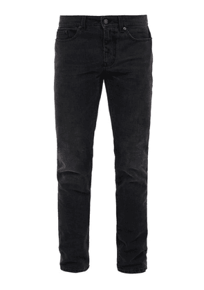 Saint Laurent - Faded Skinny Jeans - Mens - Dark Grey