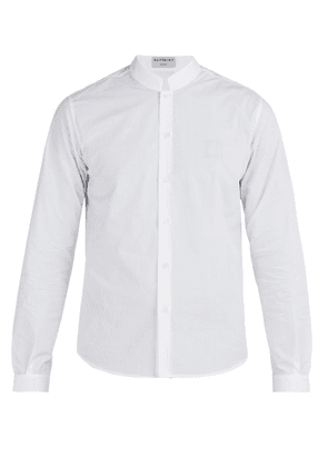 Éditions M.r - Officer Collar Shirt - Mens - White
