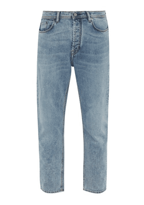 Acne Studios - River Slim Leg Jeans - Mens - Light Blue