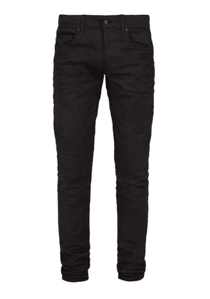 Saint Laurent - Slim Leg Denim Jeans - Mens - Black