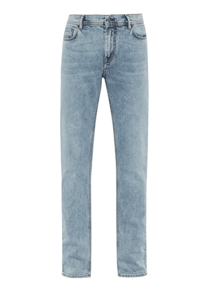 Acne Studios - Blå Konst North Slim Leg Jeans - Mens - Light Blue