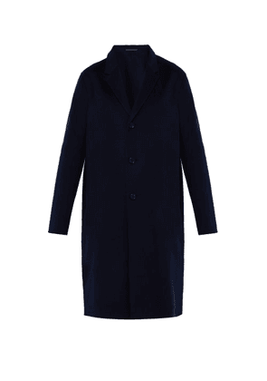 Acne Studios - Chad Wool And Cashmere Blend Overcoat - Mens - Navy