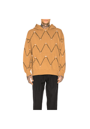 Visvim Jumbo Hoodie All Over in Abstract,Neutral
