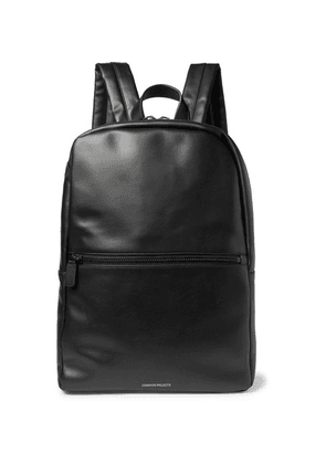 Common Projects - Leather Backpack - Black