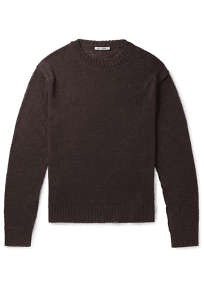 Our Legacy - Acre Linen Sweater - Brown