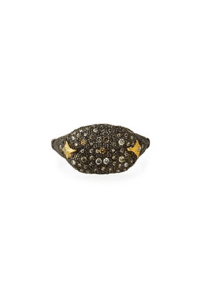 Old World Diamond Pave Cocktail Ring