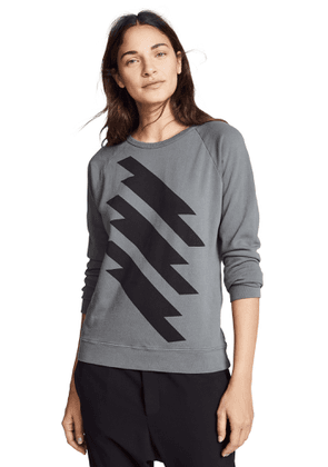 FREECITY Lightning Strikes Sweatshirt