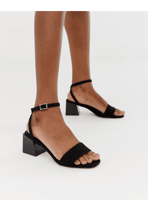 ASOS DESIGN Honeywell Block Heeled Sandals