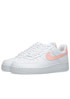 Nike Air Force 1 '07 W White & Oracle Pink