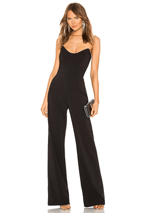 Nookie Diamond Jumpsuit in Black. Size XS.