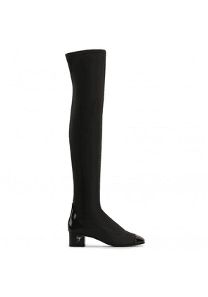 Giuseppe Zanotti - Synthetic leather cuissard boot MOLLY