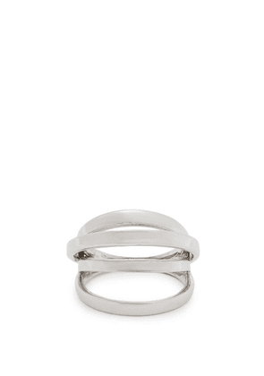 Alan Crocetti - Space Ring - Mens - Silver