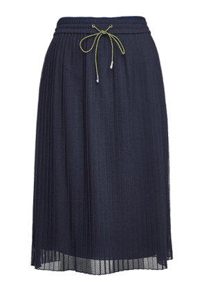 Hugo Replissa Pleated Skirt with Drawstring Waist