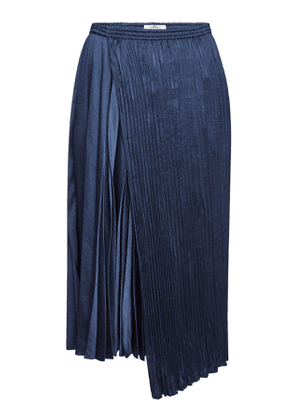 Vince Asymmetric Pleated Skirt
