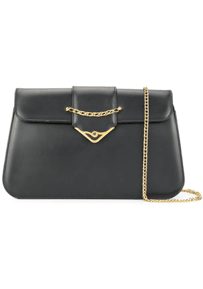 Cartier Vintage S de Cartier Sapphire chain shoulder Bag - Black