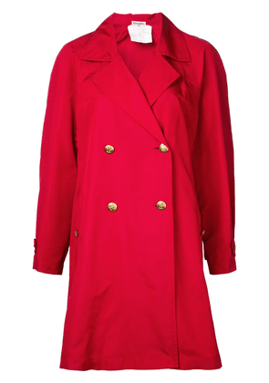 Chanel Vintage long sleeve coat - Red