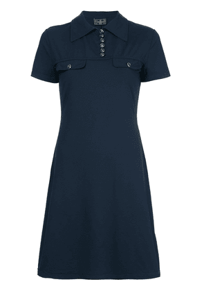 Fendi Vintage polo shirt one piece - Blue