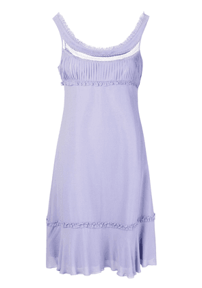 Giorgio Armani Vintage empire line short dress - Pink