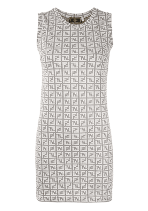 Fendi Vintage Sleeveless Dress - Grey