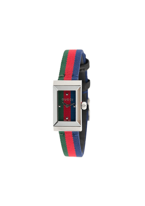 Gucci striped analog watch - Red