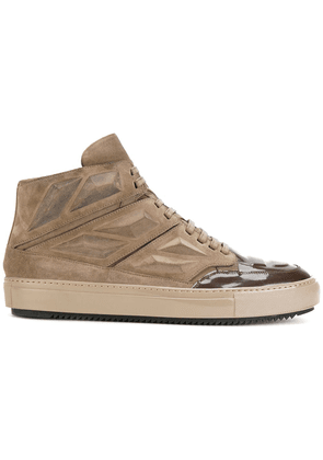 Alejandro Ingelmo lace-up high-top sneakers - Neutrals