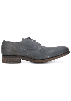 A Diciannoveventitre distressed Derby shoes - Grey
