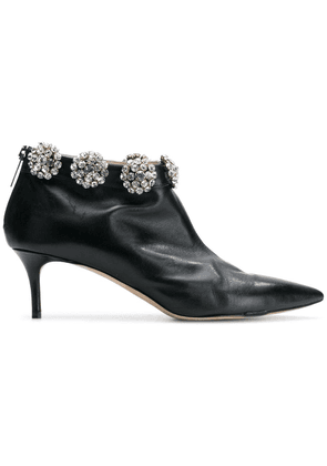Christopher Kane diamond cluster ankle boot - Black