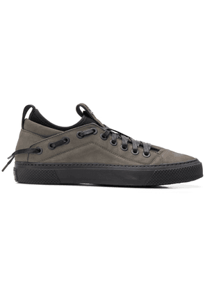 Bruno Bordese lace up detailed sneakers - Grey