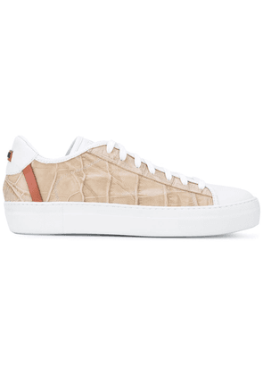 Fabi lace-up trainers - White