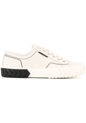 Both Tyres lace-up sneakers - White
