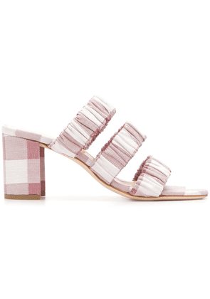Chloe Gosselin Delphinium sandals - Red