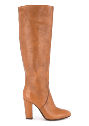 Buttero knee high boots - Brown