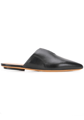 Forte Forte pointed toe mules - Black