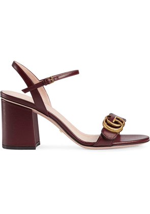 Gucci Double G sandals - Red