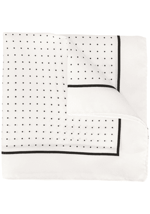 Dolce & Gabbana polka dot pocket square - White